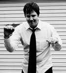 Dan Spencer, trombone player for the O.C. Supertones.