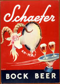Advertising artwork of Dr. Seuss - Bock Beer