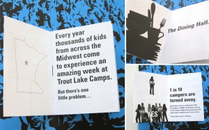 Trout Lake Dining Hall mini booklet